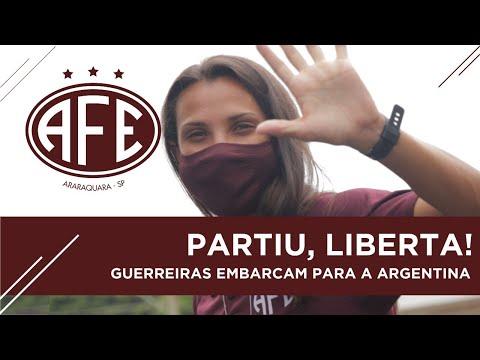 Vídeo / Guerreiras Grenás já estão na Argentina para a Libertadores!
