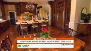Inside Home Where Michael Jackson Spent Final Days