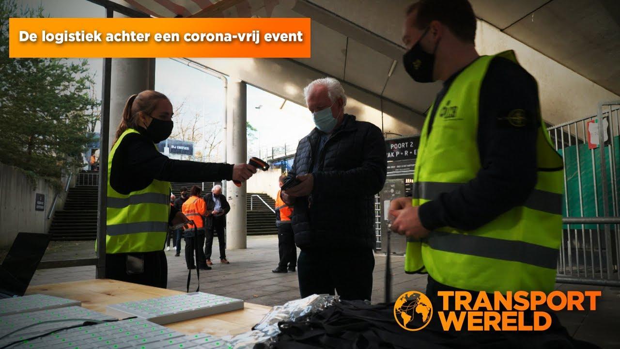 De logistiek achter een corona-vrij event