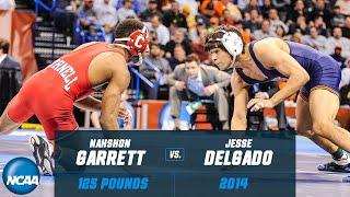 Jesse Delgado vs. Nahshon Garrett: 2014 NCAA title match at 125 pounds