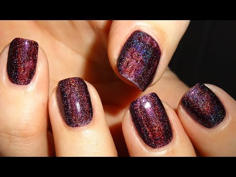Born Pretty Store Holographic Nail Polish Violet Light - Item #41675