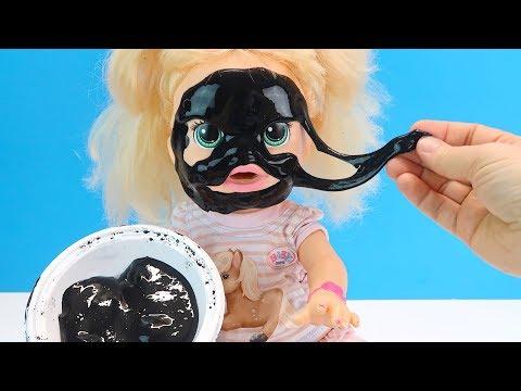 Со СЛАЙМОМ Так Играть Нельзя! Куклы Пупсики Делаем #Слайм Игрушки Для детей 108мама тв