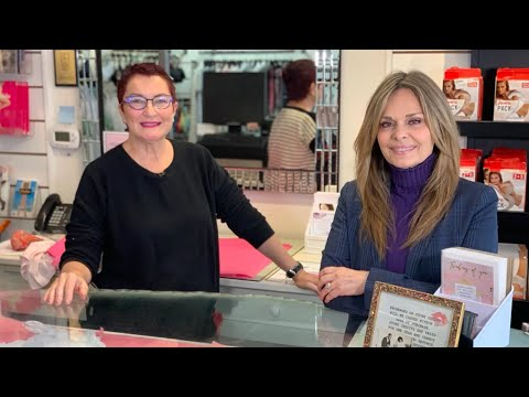Liliana Mann with Susan Hay of Global News