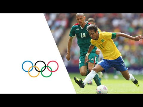 Mexico 2 -1 Brazil - Football Gold Medal Match Highlights | London 2012 Olympics