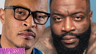 T.I. GOT SHUT DOWN BY Rick Ross OVER Kodak Black  (YOU MUST SEE THIS)