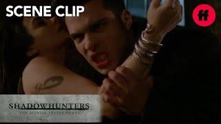 Shadowhunters   Season 2, Episode 8: Raphael Bites Izzy   Freeform