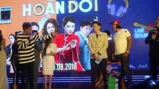 Trấn Thành và Việt Hương chặt chém Ngô Kiến Huy và Khả Như, Huỳnh Lập tại lễ ra mắt phim Hoán đổi