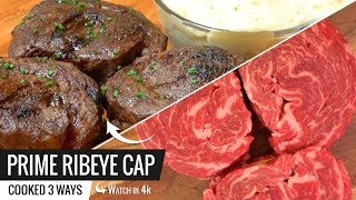Prime Ribeye Cap Cooked Sous Vide Is The Best Steak Ever