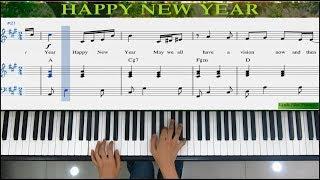 PIANO TUTORIAL - Hướng dẫn đệm hát: Happy New Year (ABBA) - Linh Nhi