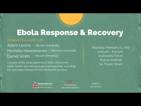 Ebola Response and Recovery
