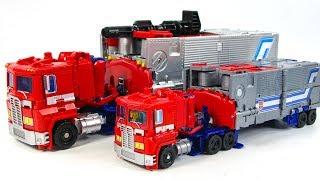 Transformers POTP BlackMamba Oversized Optimus Prime Truck Vehicle Car Robot Toys