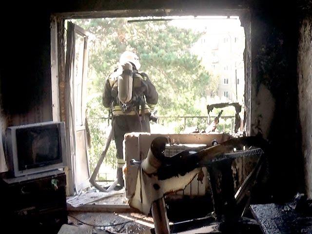 Квартира взорвалась в Ангарске