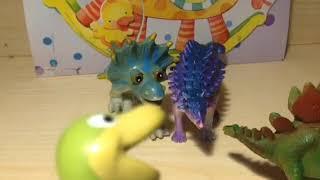 """Мультфильм """"Динозаврики"""". Сезон 1, серия 34. Вместо учителя."""