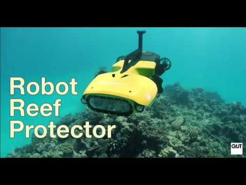 Robo reef protector to save the Great Barrier Reef