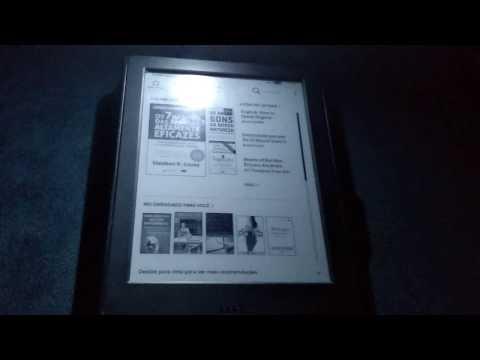 Luz para Kindle 8 ª geração. Livro: Os 7 Hábitos das Pessoas Altamente Eficazes