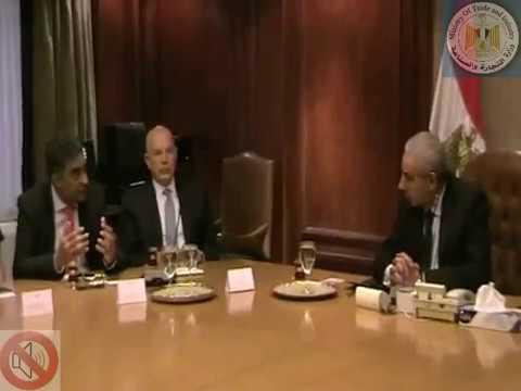 لقاء الوزير/ طارق قابيل مع رئيس الاتحاد الدولى للمنسوجات