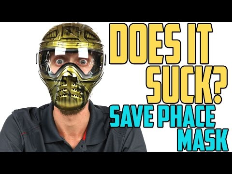 Does it Suck? – Save Phace Paintball Mask Ep. 13 – 4K
