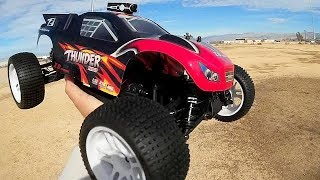 ZD Racing Brushless ZTX-10 Thunder 10423-S  1/10 Scale RC Car Test Drive Review