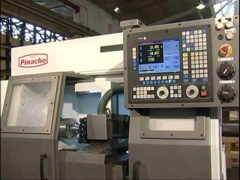 Pinacho Lathes CNC 180X750 - CNC Workpiece