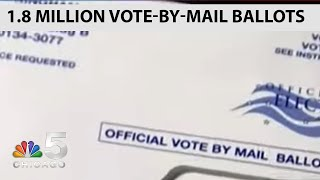 Illinois Election Boards Sending Out Over 1.8 Million Vote-By-Mail Ballots | NBC Chicago