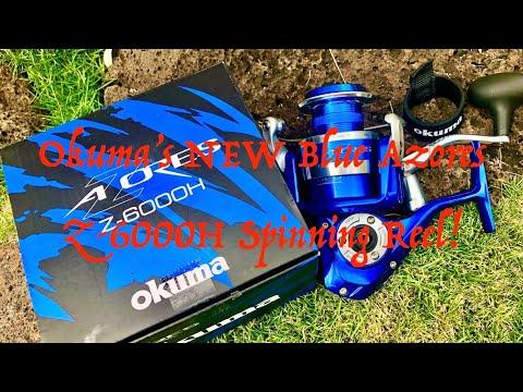 Okuma's NEW Blue Azores 6000 - Spin & Bait Casting! - смотреть