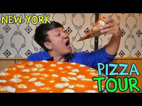 BEST Pizzas in New York! New York Pizza Tour of Manhattan