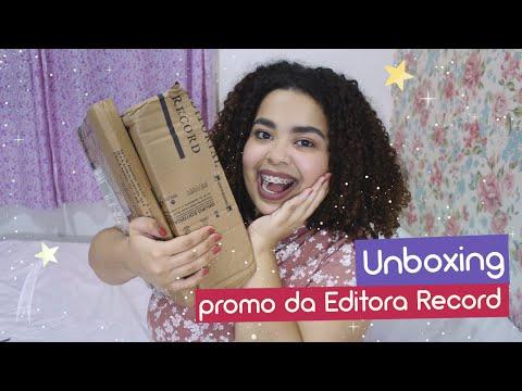 Unboxing Editora Record -  livros que comprei na promoção de Halloween | Estrelado