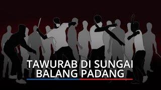Tawuran di Sungai Balang Padang, Ketua RT Tahun Lalu Ada 4 Kali, Tahun 2021 Ini yang Pertama