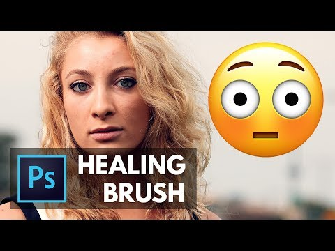 Learn the HEALING BRUSH in About 5 Minutes! Photoshop Tutorial