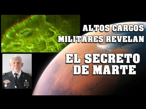 Altos cargos militares revelan el SECRETO DE MARTE – Ciudades subterraneas