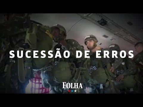 Exército aponta erros, mas livra militares por morte de paraquedista homenageado por Bolsonaro
