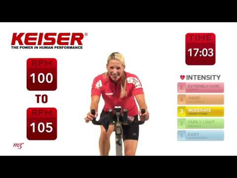 Keiser Cycle Core - YouTube