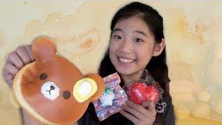 JUMBO PUNI MARU BEAR PANCAKE!! AWESOME SQUISHY PACKAGE FROM SQUISHYSHOP.COM!! 🐻🥞 | CuteFads