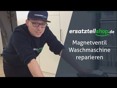 Magnetventil Waschmaschine reparieren / tauschen - so geht es!