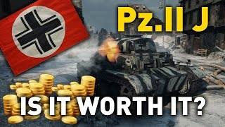 World of Tanks || Pz. II Ausf. J - is it Worth it?
