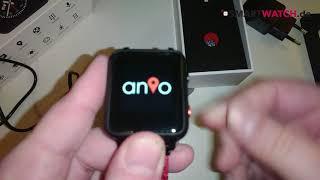 Anio 5 Smartwatch.de - Unboxing [DEUTSCH]