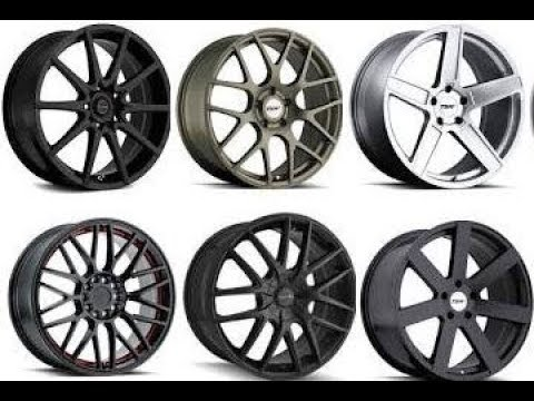 Hyundai Accent 17 inch Rims Compilation
