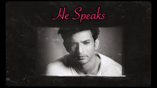 Sushant Singh Rajput Spirit Box Session. HE SPEAKS, CLEARLY and it is BEAUTIFUL!