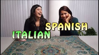 Similarities Between Spanish and Italian