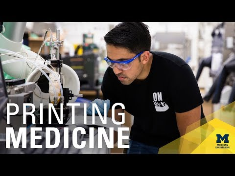 Printed meds could reinvent pharmacies, drug research