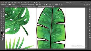 How To Create Handdrawn Leaves In Adobe Illustrator