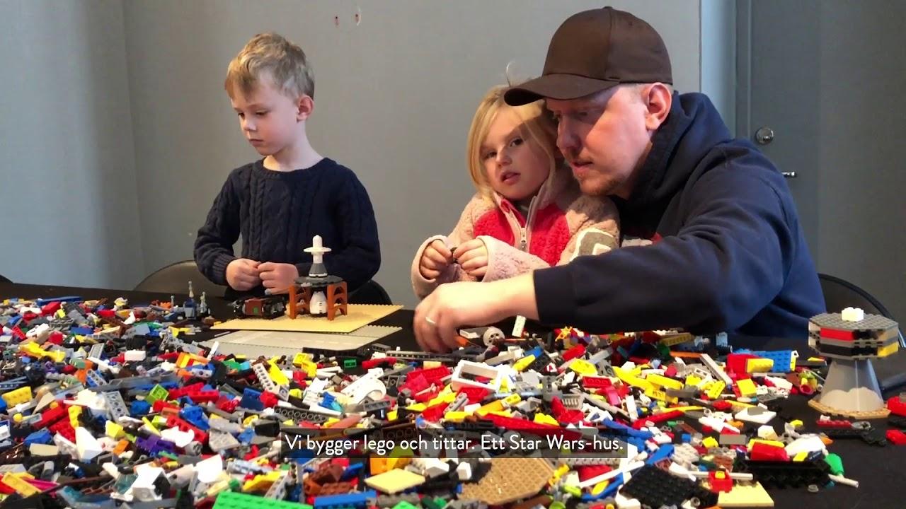 Legoutställning på Försvarsmuseum