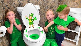 We Found a Leprechaun on St Patrick's Day!!!