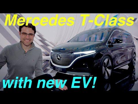 first ever Mercedes T-Class 😮  cheaper than A-Class and EV as Mercedes EQT !