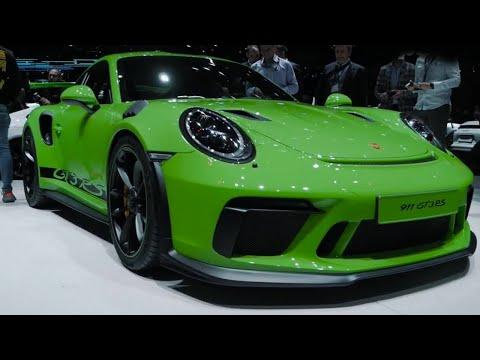 Porsche Mission E + 911 GT3 RS | Geneva Motor Show 2018