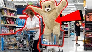 GIANT TEDDY BEAR SURPRISE Valentines Day PRANK!!!