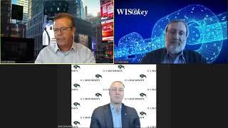 Wall Street Webcasting – WISeKey International Holding AG