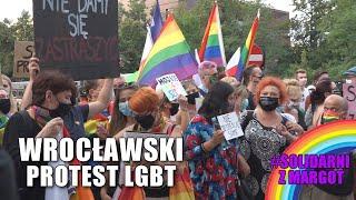 """Solidarni z #Margot"". Wrocławski protest #LGBT"
