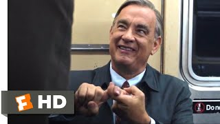 A Beautiful Day in the Neighborhood (2019) - Singing on the Subway Scene (4/10) | Movieclips
