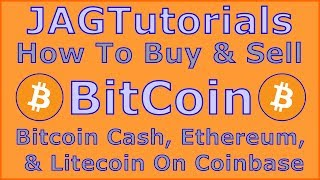 How To Buy Bitcoin, Ethereum, & Litecoin Using The Coinbase Cryptocurrency Exchange (Part 1)